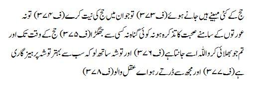 Surah Al-Baqara - Verse 197